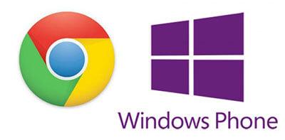 Google Chrome для Windows Phone