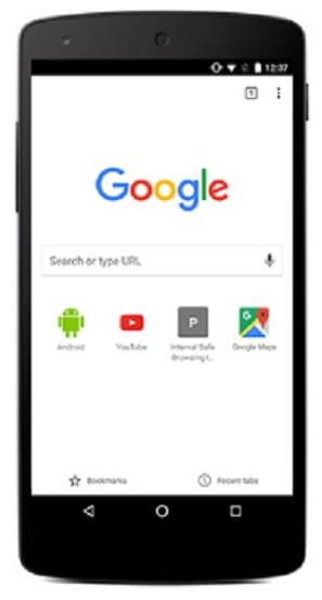 google chrome для телефона